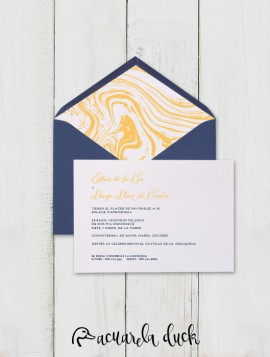 "Invitación boda ""Wind"""